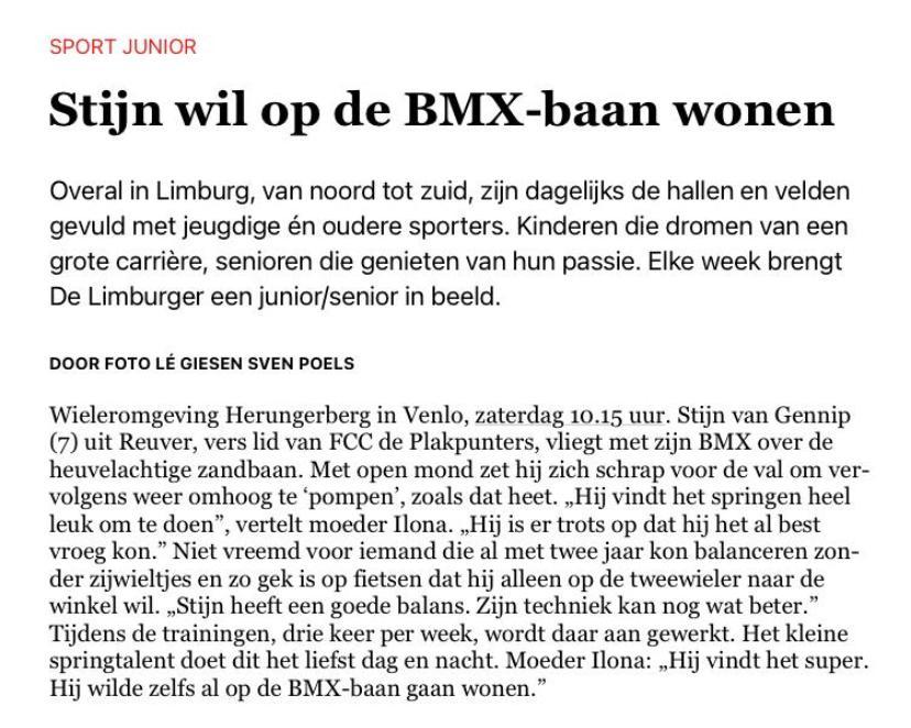 Stijn wil op de BMX baan wonen 2
